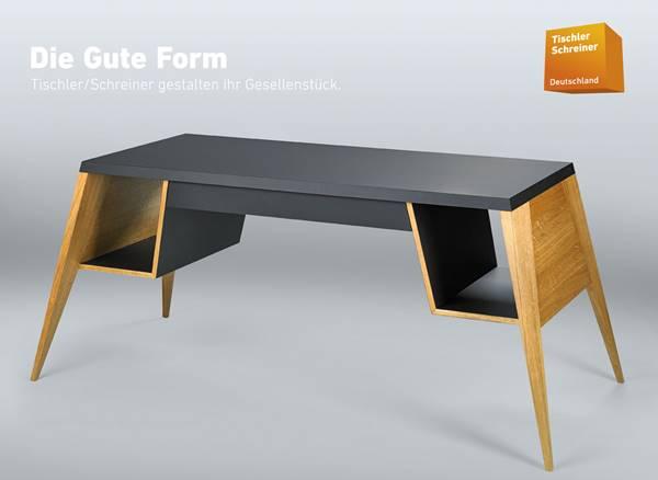 hannah prinz tischlert sich beim wettbewerb die gute form. Black Bedroom Furniture Sets. Home Design Ideas