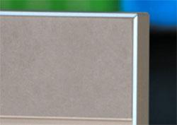durchgef rbtes mdf in neuer farbe topan colour in grau. Black Bedroom Furniture Sets. Home Design Ideas