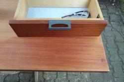 Furnierte Tischplatte aufbereiten Macken beheben | woodworker