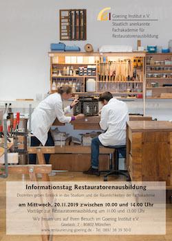 Goering Institut Infotag