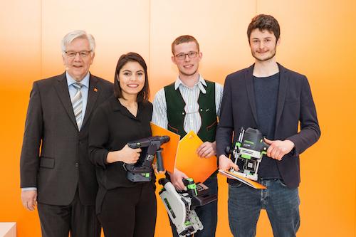Die drei Gewinner der Guten Form 2018
