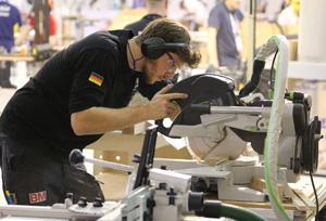 Markus Figl bei den World Skills