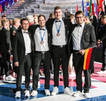 World Skills 2019 Siegerehrung