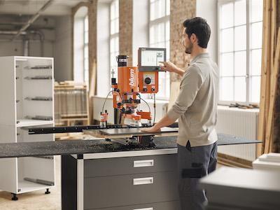 Blum Easystick automatischer Anschlag für Minipress