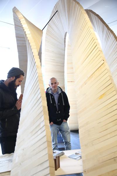 Campus auf der Holz-Handwerk