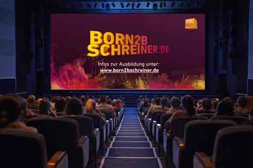 kinospot tischler schreiner