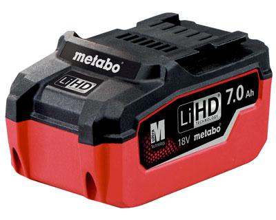 Metabo 7 Amperestunden LiHD