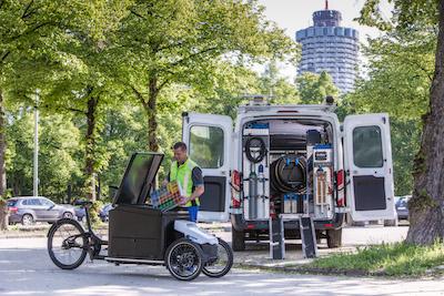 Sortimos Cargobike gibt es jetzt auch im Leasing